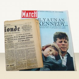 Journal anniversaire + Paris-Match 1949 à 1975