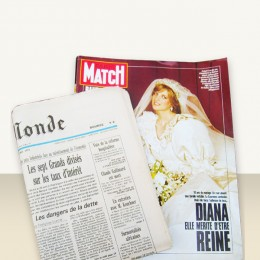 Journal anniversaire + Paris-Match 1976 à 2015