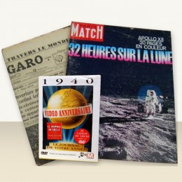 Journal anniversaire + Paris-Match + DVD